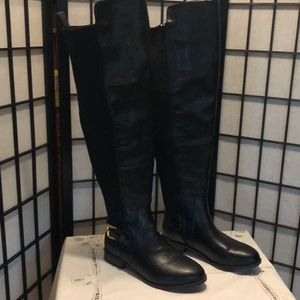 Cato black over the knee boots. Size 7W